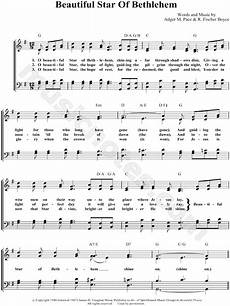 bill gloria gaither quot beautiful star of bethlehem quot sheet music in g major transposable