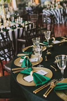 image result for emerald green and gold decorations e g