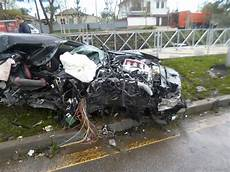 Russian Footballer Crashes Nissan Gt R Into Pole At 105mph