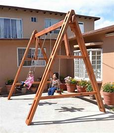 playground swing sets rory s big playground swing set forever redwood