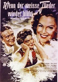 Poster Zum Wenn Der Wei 223 E Flieder Wieder Bl 252 Ht 1953