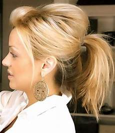 Easy Ponytail Hairstyles For Medium Length Hair 30 easy and hairstyles hairstyles haircuts 2016
