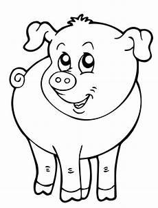 Lustige Schweine Ausmalbilder Kostenlose Malvorlage Tiere Kleines Schweinchen Zum Ausmalen