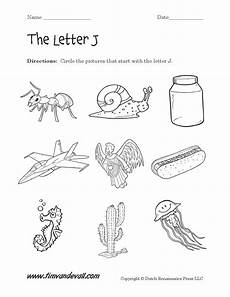 worksheets for letter j in preschool 23607 letter j worksheets preschool alphabet printables
