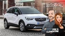 Opel Crossland X L Opel Qui A Mang 233 Du Test 2017