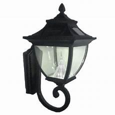 gama sonic pagoda solar black outdoor wall lantern gs 104w the home depot