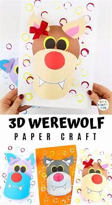 Malvorlagen Wolf Craft 3d Paper Wolf Craft For Faaliyet Malvorlagen Mandala