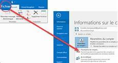 comment trouver une adresse mail enlever ou supprimer un compte de courrier dans outlook