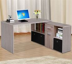 ebay home office furniture corner adjustable computer desk table laptop pc work desk