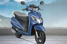 honda activa honda activa 125 with led headlight launched at rs 59 621