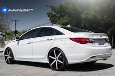 2013 hyundai sonata rims 2013 hyundai sonata 22 quot lexani wheels r four custom