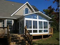 build sunroom we built this sunroom an existing deck then we added