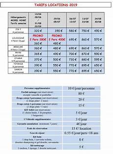 Tarif Diagnostic Immobilier Tarifs Location Semaine Cing La Chapelle Claude