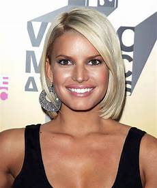 jessica simpson short hairstyles jessica simpson medium straight formal bob hairstyle light ash blonde hair color