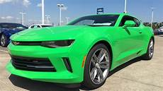 2017 Chevrolet Camaro Rs 3 6l V6 Krypton Green