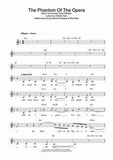 the phantom of the opera sheet music direct