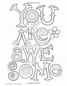 you are awesome coloring page adult meme coloring pages