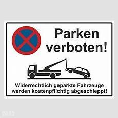 Parkverbot Schild Parken Verboten Hinweisschild