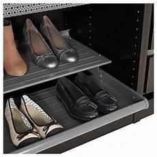 Ikea Komplement Schuhregal - komplement uittrekbaar schoenenrek donkergrijs ikea