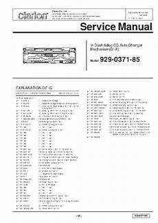 Clarion Cmd4 Service Manual Free Schematics