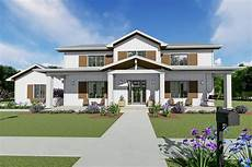 two story craftsman house plan with main floor master in