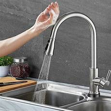 touch free faucets kitchen top 10 best touchless kitchen faucets in 2019 reviews the best spec
