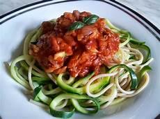 Zucchini Spaghetti Mit Mock Abalone Claudi S Vegan World