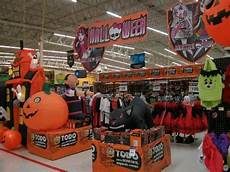 Decorations At Walmart by Walmart Trick Or Treat Aisle Display