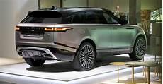nouveau range rover velar le range rover velar au coeur de la design