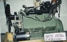 NOS Cadillac Flathead V8 Engines 1939 1948 For Sale