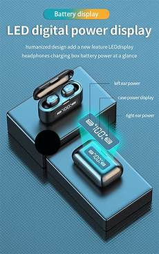 Bakeey Smart Touch Digital Display Regulates by Bakeey F9 Stereo Hifi Tws Earbuds Bluetooth 5 0 Smart