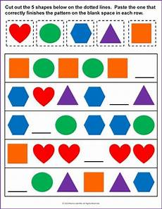 patterns worksheets pre k 208 119 best images about math activities prek on busy bags math stations and motor