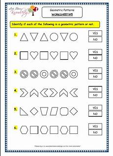 grade 3 maths worksheets 14 9 geometry geometric patterns in shapes numbers lets