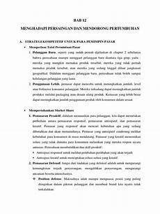 resume manajemen pemasaran bab 12 kotler