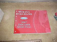 manual repair free 2007 ford explorer sport trac engine control 2007 ford explorer sport trac wiring diagram manual ebay