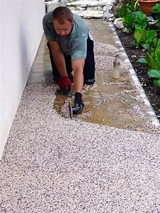 La Pose Du Granulat De Marbre Pour Votre Terrasse En