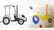 Comment Dessiner Un Tracteur Les Carnets De C 233 Leste