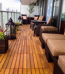 balkonfliesen holz balkon fliesen aus holz 50 stilvolle outdoor ideen