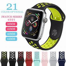 Breathable Silicone Band by Elastic Breathable Silicone Sport Band For Apple