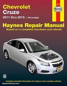 car manuals free online 2011 chevrolet cruze navigation system chevrolet cruze haynes automotive repair manual 2011 2015
