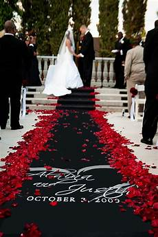 black and wedding ideas wedding aisle runner wedding