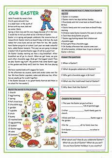 our easter worksheet free esl printable worksheets made by teachers