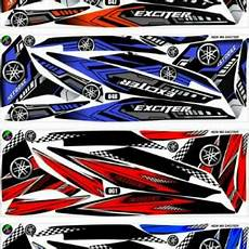 Variasi Motor Mx 135 by Sticker Striping Variasi Thailand Thailook Jupiter Mx