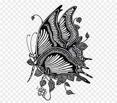 Gambar Hitam Putih Kupu Kupu Dan Bunga Info Terkait Gambar