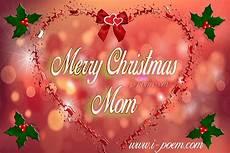 merry christmas mom writing i poem