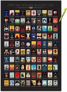 an interactive imdb top 100 list poster