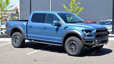2019 ford raptor performance blue the 2019 ford f 150 raptor s suspension adapts on the fly