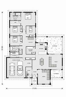 gj gardner homes house plans parkview 290 4b study plus massive butlers pantry gj
