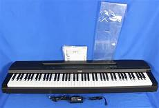 electric piano 88 weighted yamaha p 255 weighted 88 key electric digital piano keyboard reverb