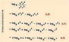 logarithmen berechnen 10 klasse realschule gymnasium